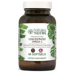 Natural Nutra Omega 3 - Natural Orange Flavor