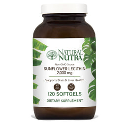 Natural Nutra Sunflower Lecithin - Softgels