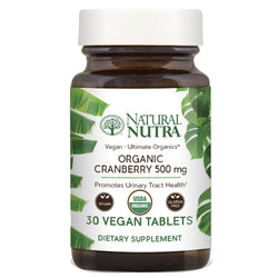 Organic Cranberry - Natural Nutra