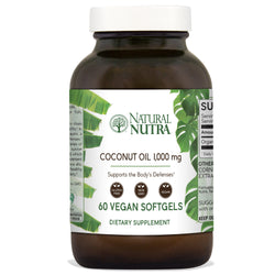 Natural Nutra Coconut Oil Softgels