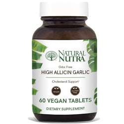 High Allicin Garlic - Natural Nutra