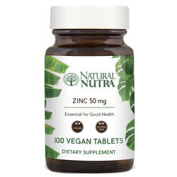 Natural Nutra Zinc 50 mg