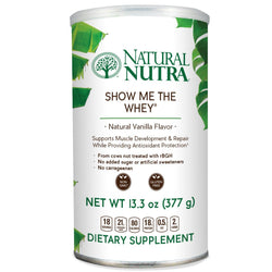 Whey Protein Powder - Vanilla - Natural Nutra