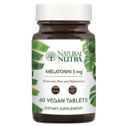 Melatonin 3mg - Natural Nutra
