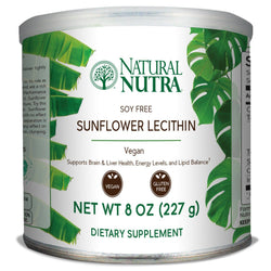 Natural Nutra Sunflower Lecithin - Powder