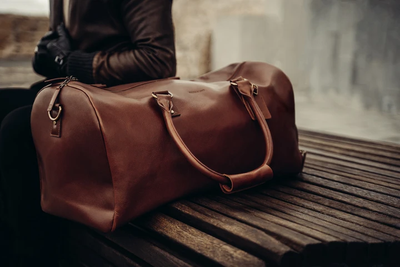 What Defines a Luxury Leather Travel Bag?