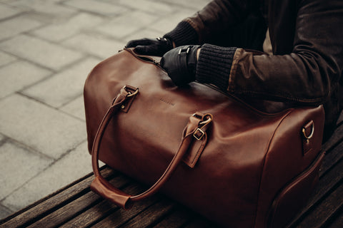 Leather Holdall Functionality