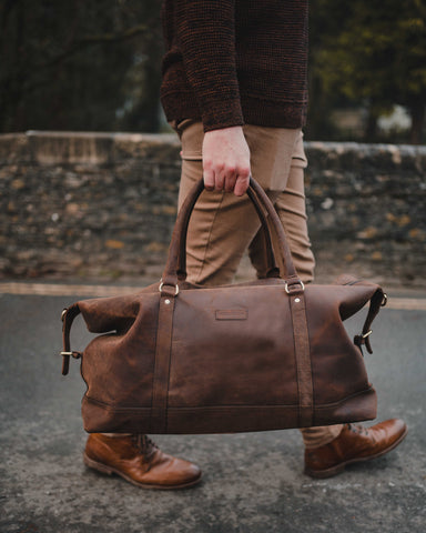 Styles of Leather Holdall