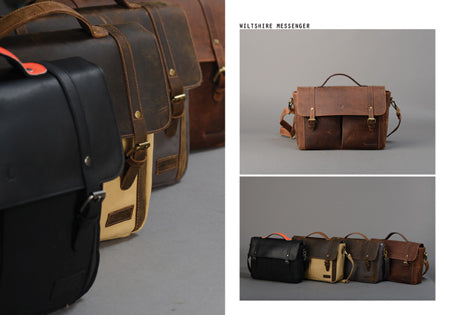 Forbes & Lewis Messenger Bags