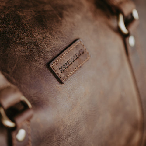 Tanned Leather Holdall