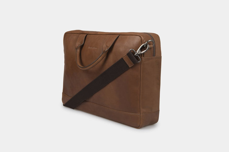 Brighton Briefcase Tan