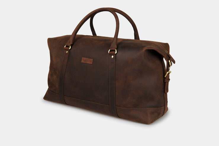 Somerset Holdall Leather - Large - Pre-Order Now! - ETA June 30th