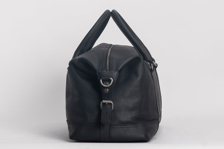 Somerset Holdall Leather Black