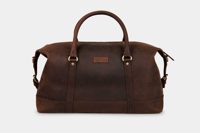 Somerset Holdall Leather - Medium - Pre-Order Now! - ETA June 30th