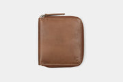 Zip Wallet Tan