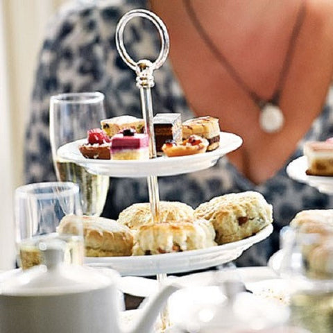 Deluxe Afternoon Tea with Prosecco