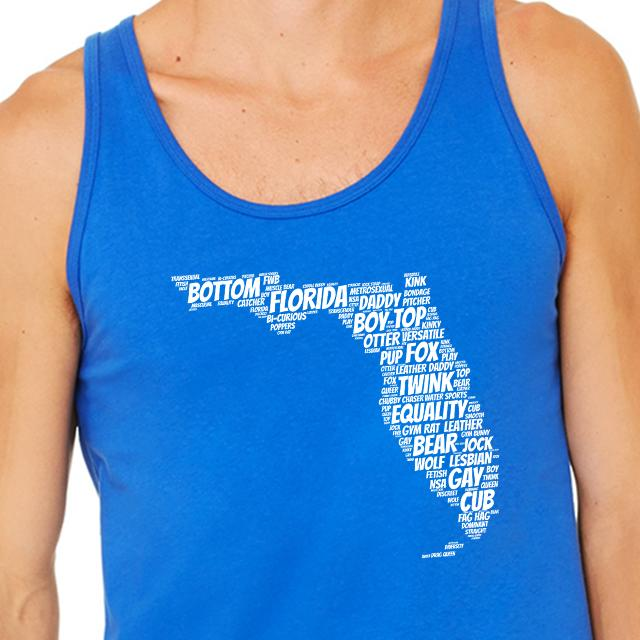 STATE YOUR PRIDE TANK / FLORIDA