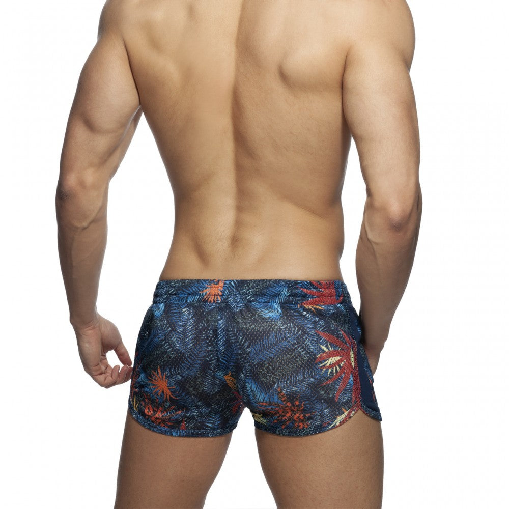 TROPICAL MESH SHORT