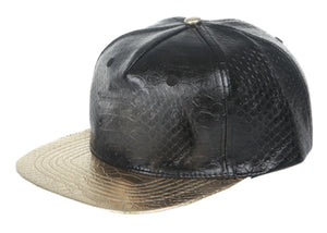 FAUX LEATHER 5 CAP  Available in 3 Colors