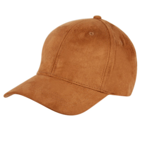 Faux Suede Cap ( Available in 4 Colors )