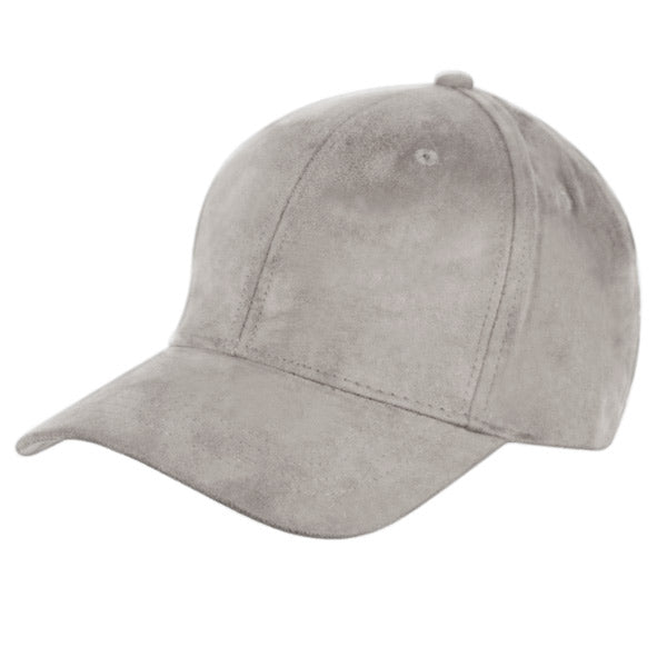 Faux Suede Cap ( Available in 8 Colors )