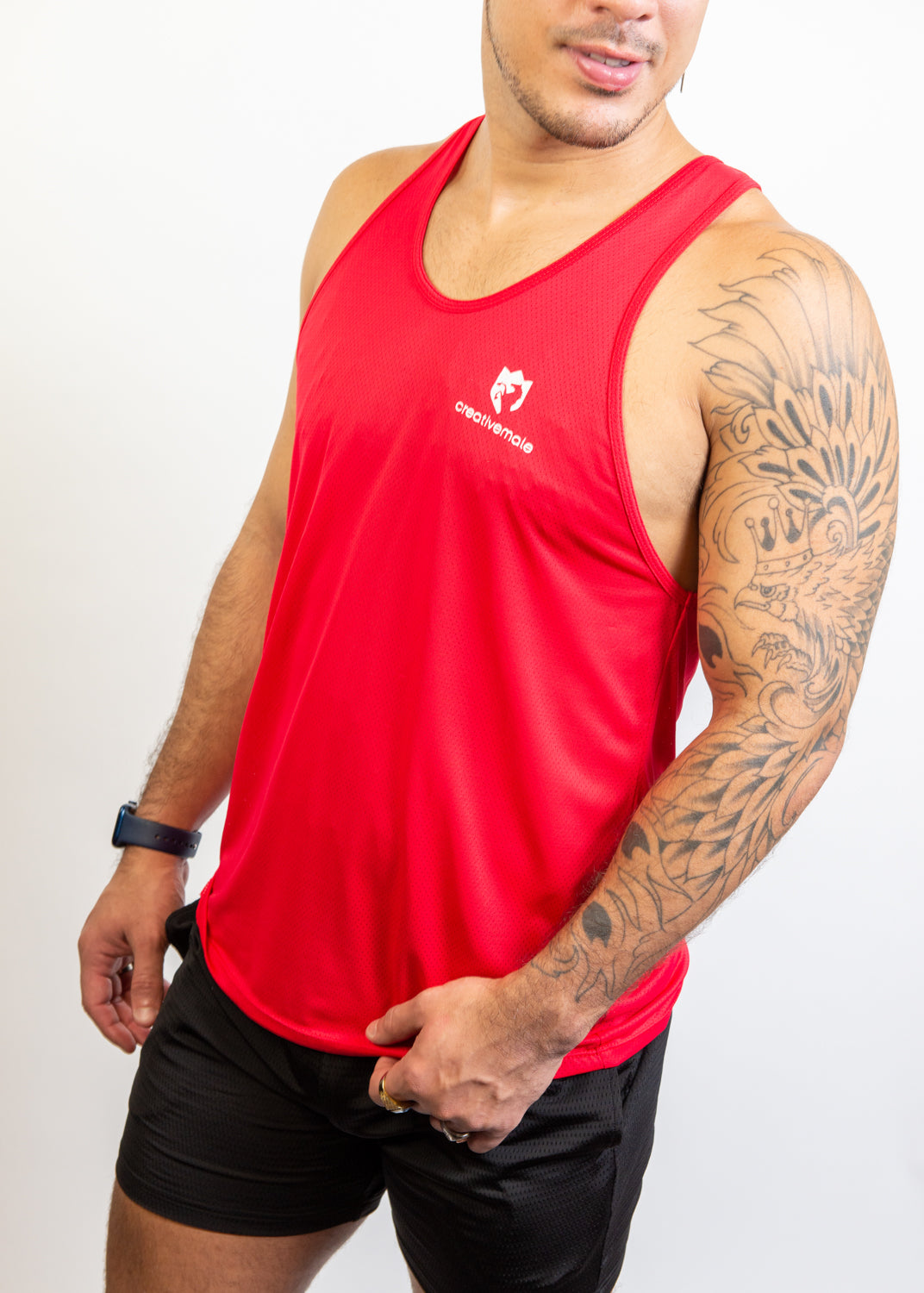CREATIVE MALE GYM TANK - 5 Colors to Choose