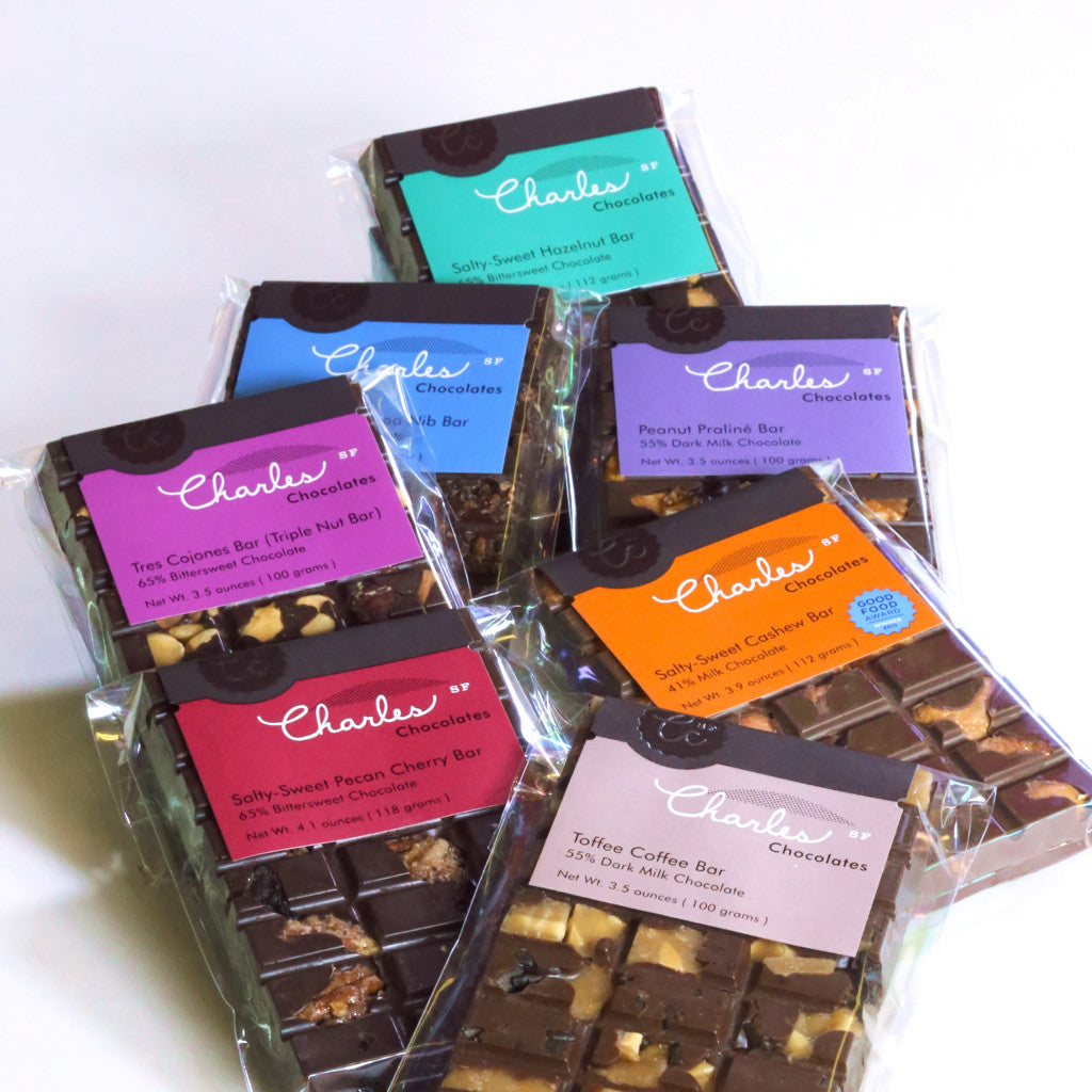 Ultimate Chocolate Bar Collection | Charles Chocolates