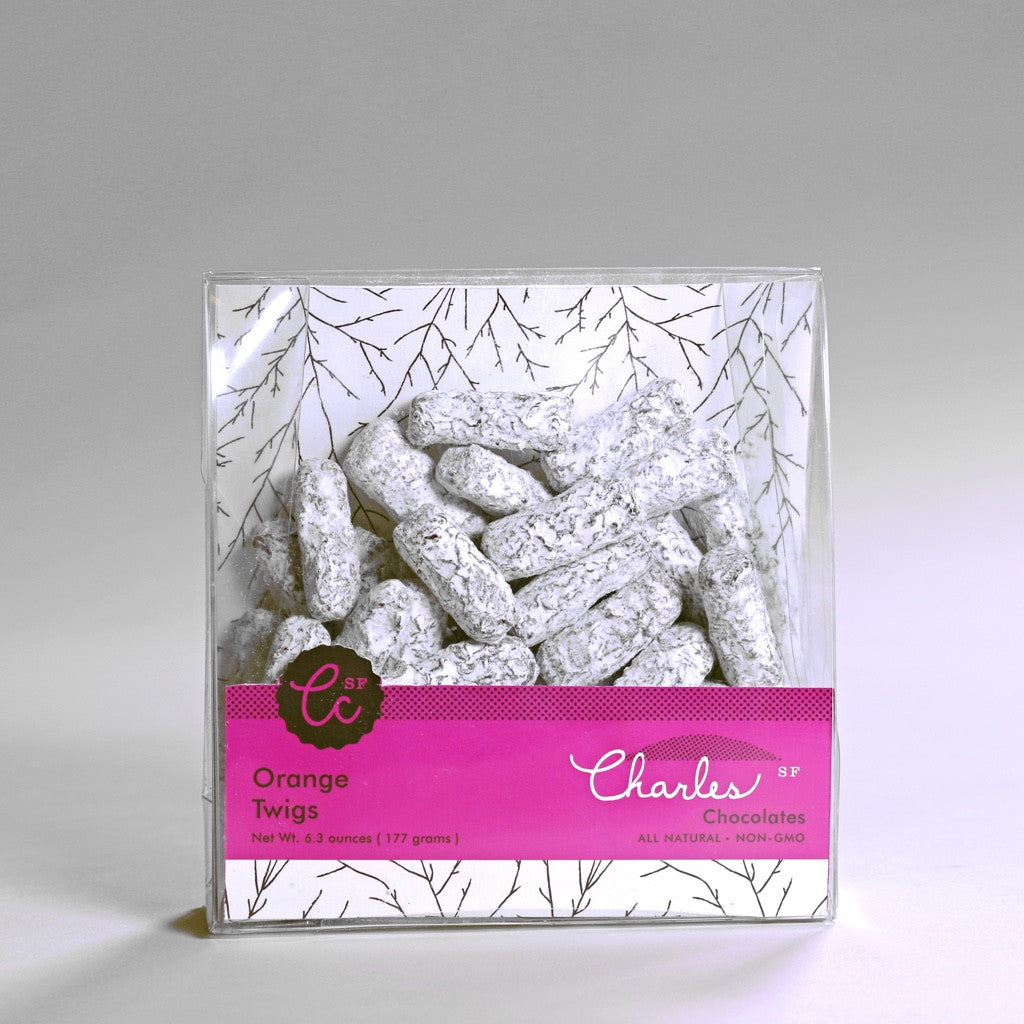 Orange Twigs | Charles Chocolates