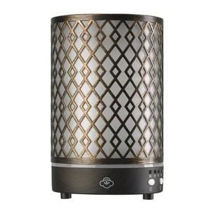 SERENE HOUSE  - Arrow Metal Essential Oil Diffuser w/ LED Lights
