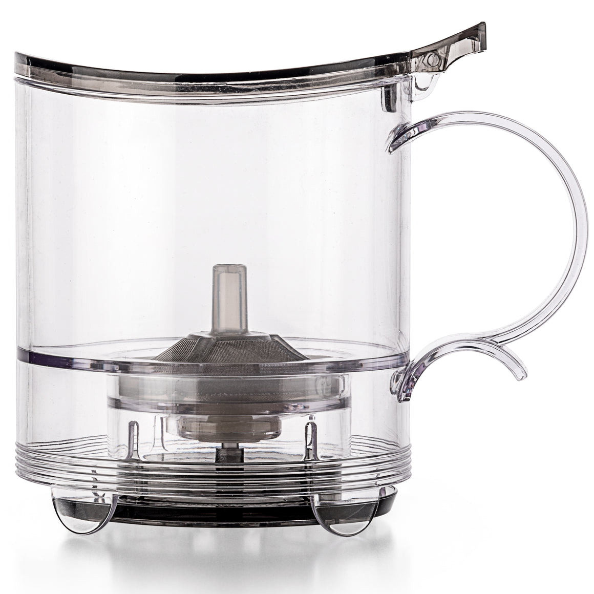 leafTEA MAKER, 18.5 oz - Loose Tea Teapot, Bottom Dispensing