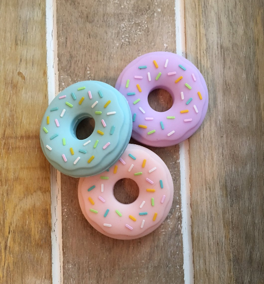 Silicone Doughnut Teether