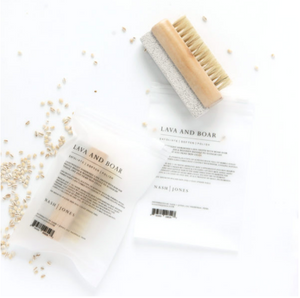 Nash | Jones Lava Froth Bar & Nail Brush