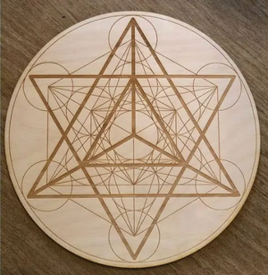Wooden Crystal Grids