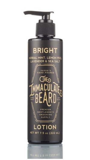 The Immaculate Beard Body Lotion