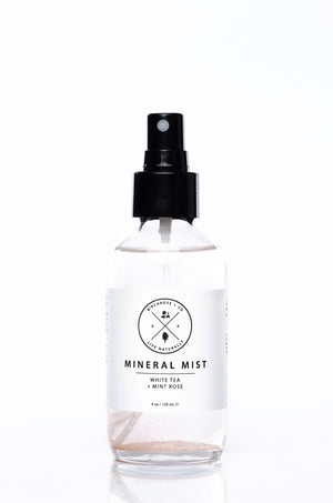 Birchrose + Co. - Mineral Mist - White Tea + Rose Mint