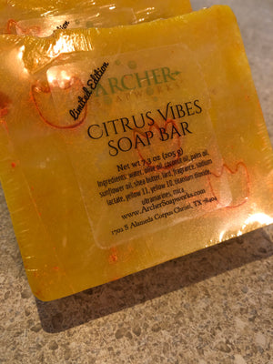 Citrus Vibes Soap Bar