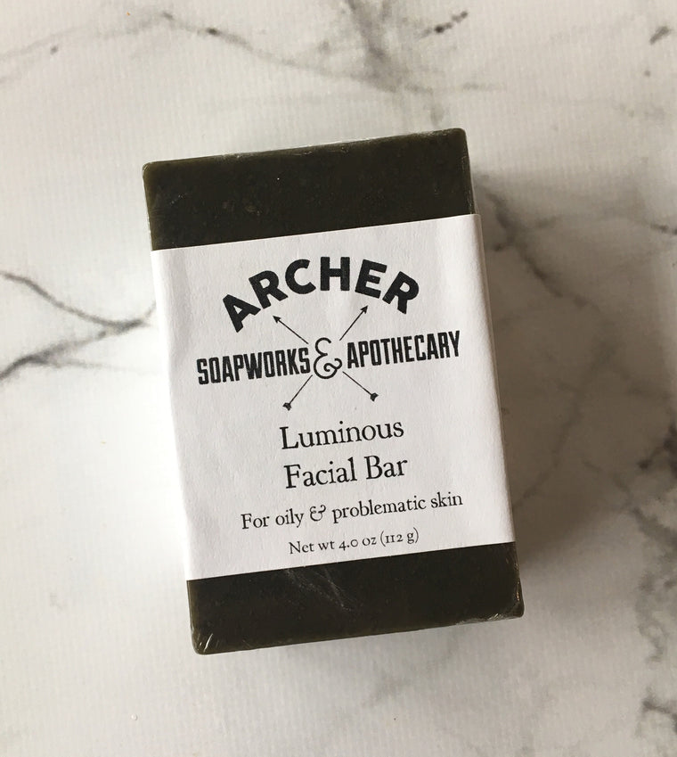 Luminous Facial Bar for Oily Skin