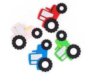 Silicone Tractor Teether