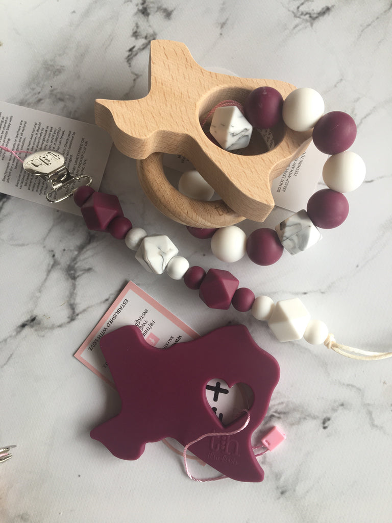 Game Day Teething Gift Set