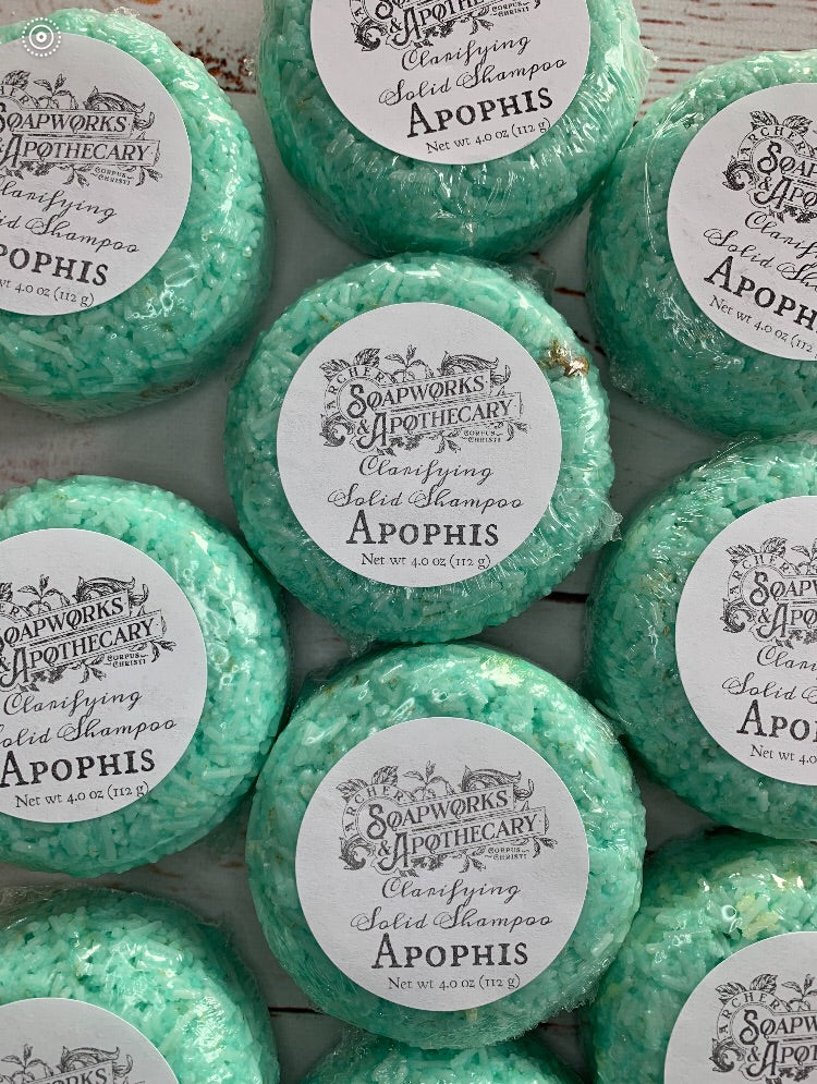 NEW Apophis Shampoo Bar