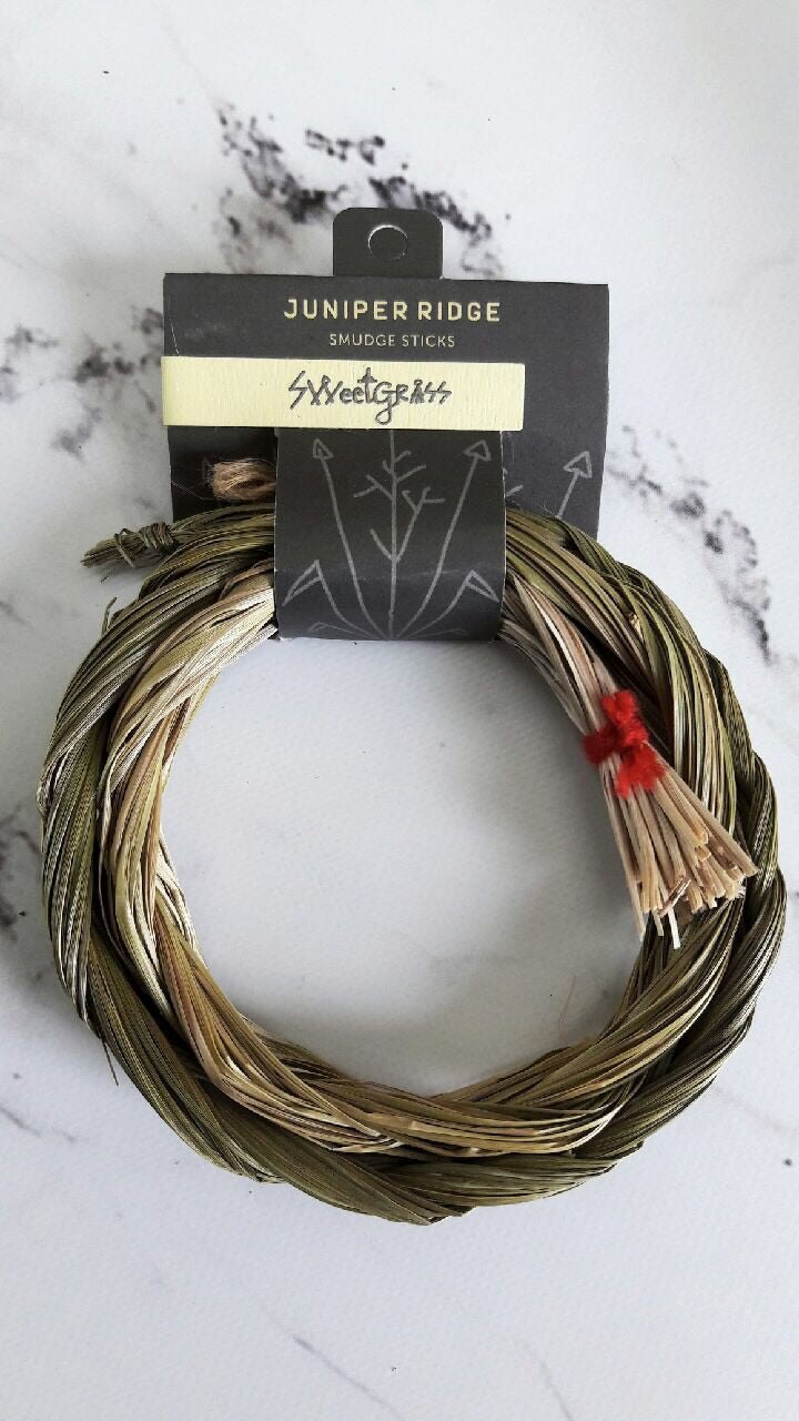 Sweetgrass Smudge Braid