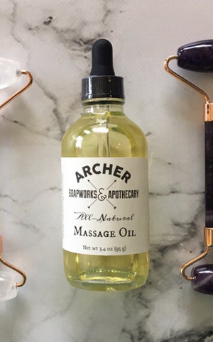 All-Natural Massage Oil