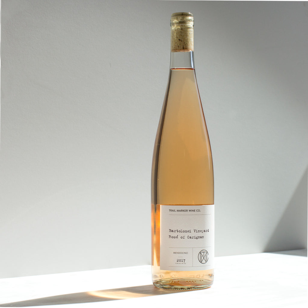 2018 Bartolomei Vineyard rosé of Carignan