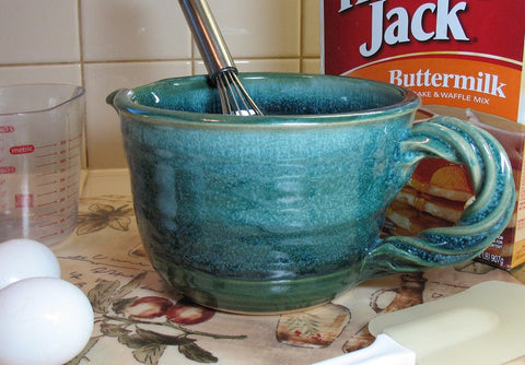 Mixing/Batter Bowl in Emerald Isle Green
