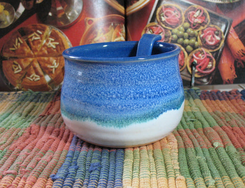 Salsa Bowl in Dark Ocean Breeze