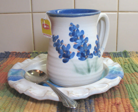 Mug with Bluebonnets