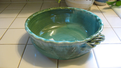 Cobbler Bowl/Casserole in Emerald Isle Green