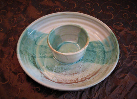 Chip and Dip in Our Sandy Shores Glaze Design