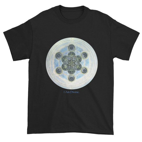 """Metatron's Cube: Voice Of God"" ©2014 - Gildan 2000 Ultra Cotton™ Short sleeve T-shirt (unisex, several color choices)"
