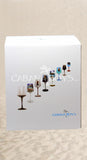 Chrome wine glasses - set of 4